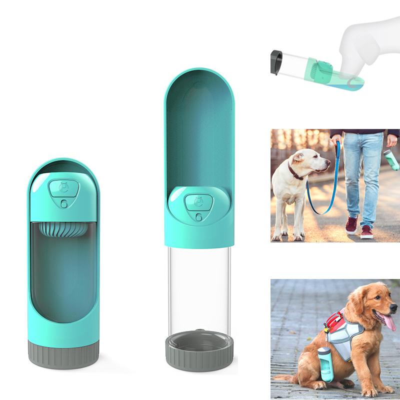 Portable Pet Dog Water Bottle Dispenser Outdoor Feeder  Drinking Travel Adjustable Product