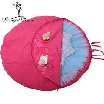 rose red Ballet Tutu Bag;grey Ballet Professional Dance Receive Package;black Dance Tutu Bag AS8630 - DISCOUNT ITEM  0% OFF All Category