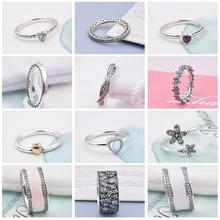 FirstQueen 100% Pure Silver 925 Jewelry Rings For Woman Engagement Ring Style Bijoux Fine Jewelry