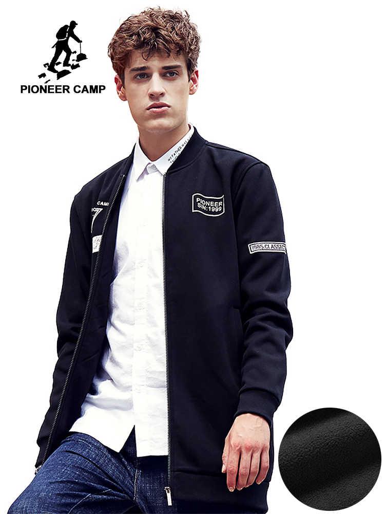 e8bbb5d69dd Пионерский лагерь Новый стиль Для мужчин толстовки длинный отрезок кофты брендовая  одежда наивысшего качества мужской флис