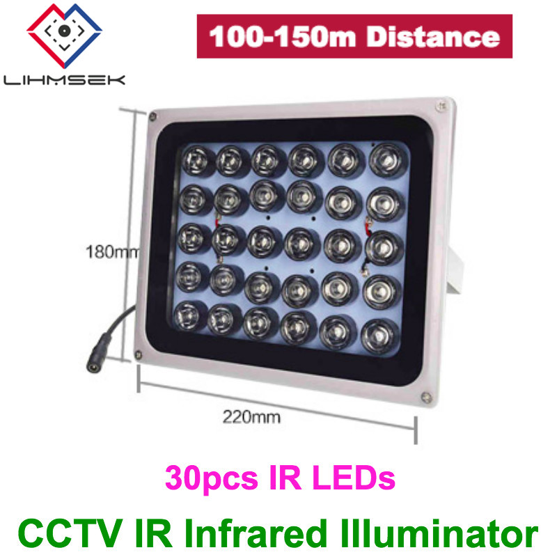 Infrared Illuminator IR Lamp 4 LED High Power Wide Angle for Night Vision CCTV