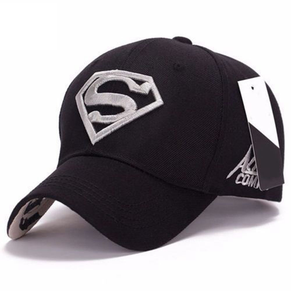 Hats Baseball-Cap Superman Geometric-Hats Hip-Hop Fashion Casual Adjustable Unisex Fit