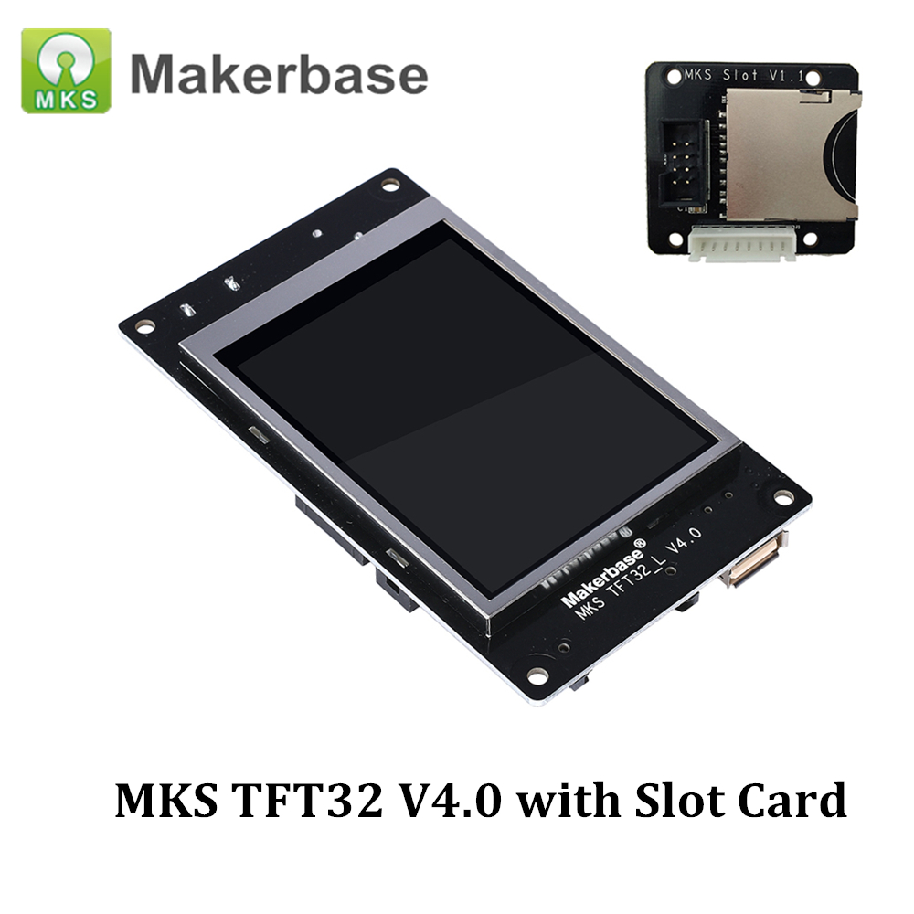 MKS TFT32 V4 0 Smart Controller Display 3 2 Touch Screen with MKS SD Slot Expansion
