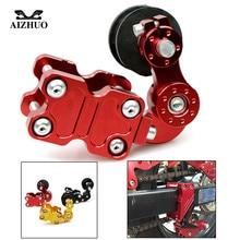 купить Motorcycle Adjustable Chain Tensioner Roller for HONDA CB599 CBR600 CBR900 CBR919 CBR650F CBR 600 F2 F3 F4 F4i CBR900RR VTX1300 дешево