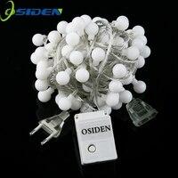 OSIDEN Globe-String Licht 33Ft mit 80led whtie Lampen aufgeführt für Indoor Outdoor Licht Dekoration für Garten, Terrasse, Party Hochzeit