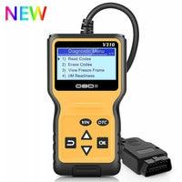 2019 NEW Viecar V310 Full OBD2 OBDII Code Reader Scan Tools OBD 2 EOBD Car Fault Code Reader Scanner Auto Engine Diagnostic tool