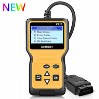 2019 NEW Viecar V310 Full OBD2 OBDII Code Reader Scan Tools OBD 2 EOBD Car Fault Code Reader Scanner Auto Engine Diagnostic tool