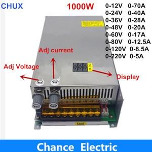 Adjustable 1000W switching pow