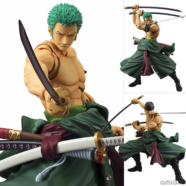 Anime One Piece 18cm BJD Roronoa Zoro Joints Moveable PVC Action Figure Collection Model Toys