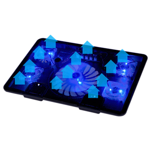 "Image 2 - Professional แล็ปท็อป Cooling Pad 13 ""14"" 15.6 ""แล็ปท็อปพัดลมสไลด์ขาตั้งแล็ปท็อปสำหรับ Notebook Cooler"
