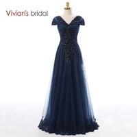 Vivian's Bridal Vintage Mother Of The Bride Dresses Cap Sleeve A Line Tulle Bridal Wedding Mother Dress