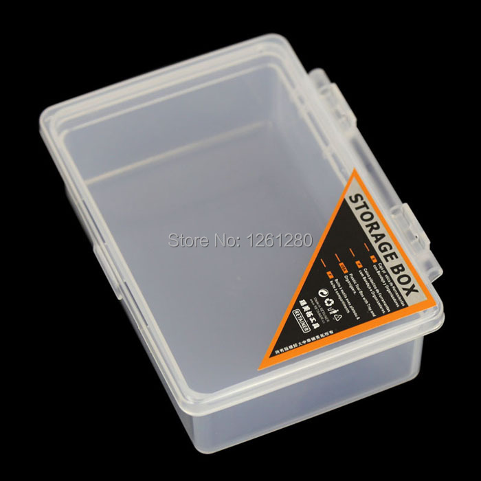 free shipping storage box grid Category Box Sealed bin Home Component case office Chip box part