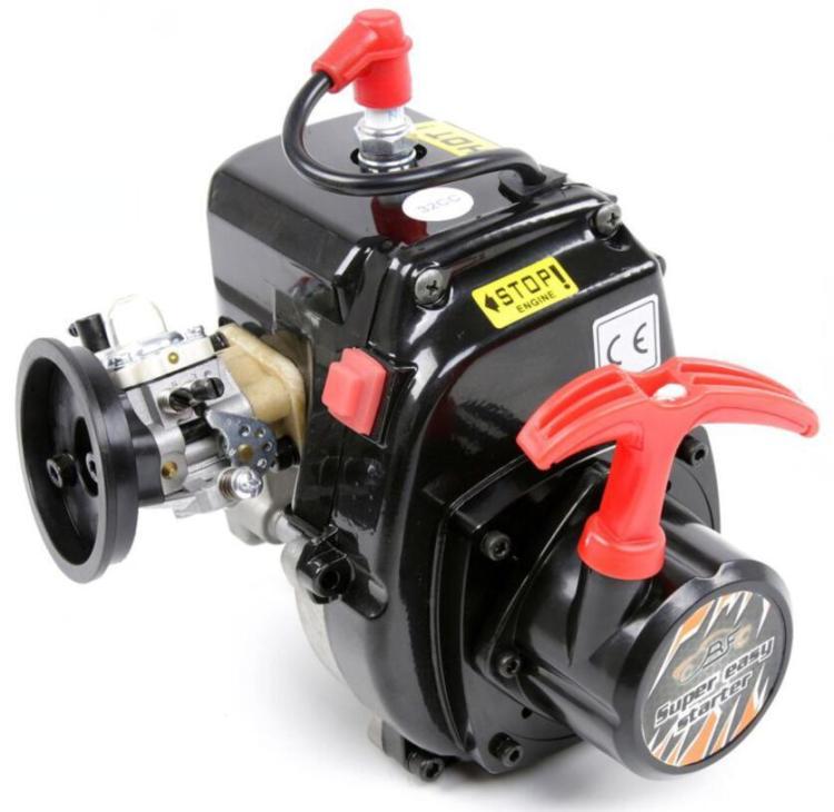 Démarreur Super facile à tirer pour moteur 23cc 26cc 29cc 30.5cc Zenoah CY pour 1:5 HPI Rovan KM Baja 5B 5 T 5SC