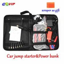 Новый Мультифункциональный портативный автомобильный прыжок стартер power Bank аварийный 12 в автомобильный аккумулятор прыжок стартер авто аккумулятор бустер