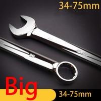 Llaves métricas de gran tamaño  llaves de gran resistencia  grandes herramientas de mano  juego de llaves de 38-75mm