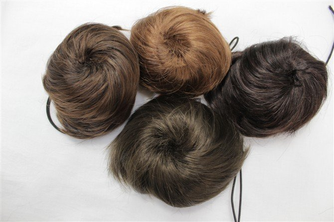 HAIR PIECE WIG Big Hair Piece Pieces Extension Wedding Bun