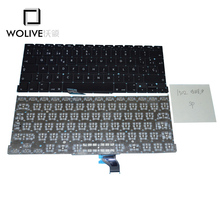 Wolive Genuine Brand new Keyboard language version SP Spain For Macbook Pro Retina 13″ A1502 Replacement ME864 ME865 ME866