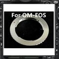 Third-party om-ef anel adaptador para olympus om monte lens para canon ef ef-s-câmera 60d 7d 5d 650d 600d