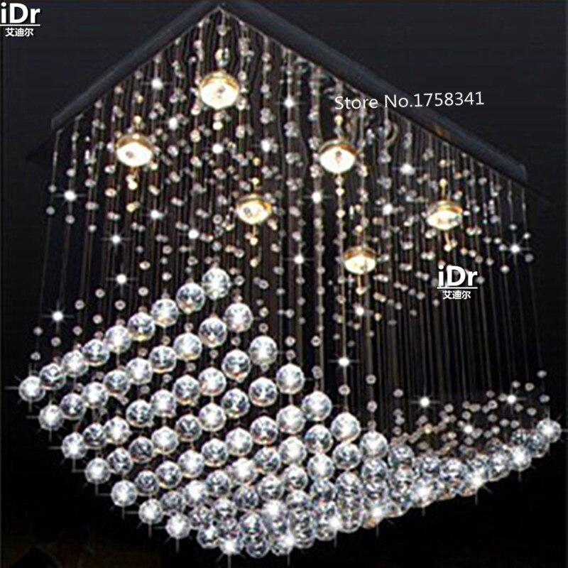 Nový křišťálový lustr pro moderní křišťálový lustr, obývák v jídelně světelný křišťálový lampa K9