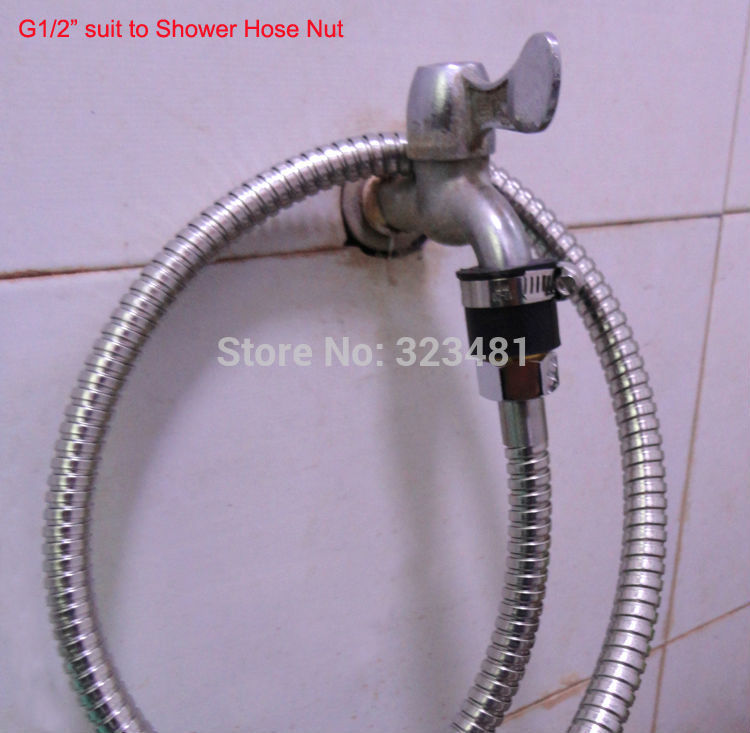 Fit A Shower Hose On Kitchen Tap With The Everry Drop Is Precious  Bathroom  Tap. Bathroom Tap Hose Connector