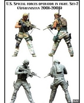 1/35 Scale Assembly Resin Figure Kit U.s Special Forces Member
