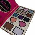 2017 Barra de Chocolate Doce Amor Poder Da Sombra de Maquiagem Sombra Eye Palette Kit Cosméticos Beleza Facial