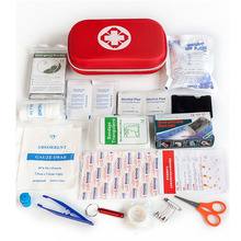 Portable18 in1 Outdoor Multi-function Emergency Kit for Car Home Wound Treatment First Aid Survival Medine Travel Rescue Bag