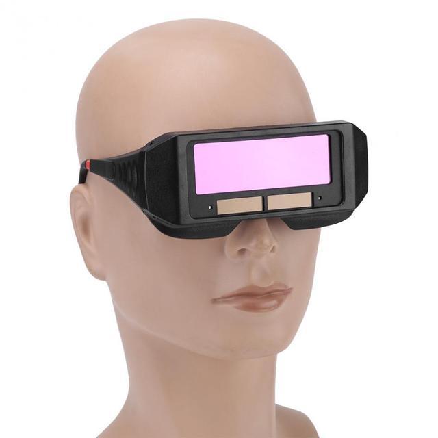 Óculos Olhos Óculos Protetor Solar Escurecimento Automático Capacete de  Soldagem Soldador Para Ferramentas de corte de be302f96b3