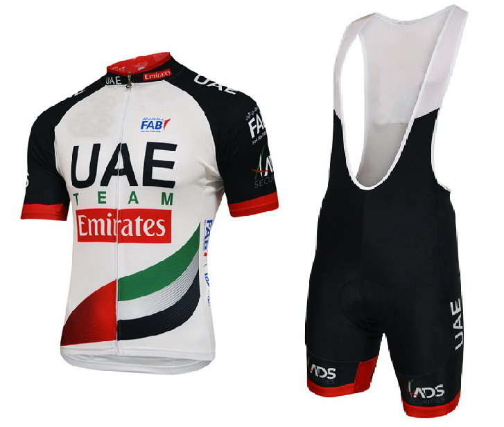 2018 UAE TEAM Emirates 3 Design Men s Cycling Jersey Short Sleeve Bicycle Clothing With Bib