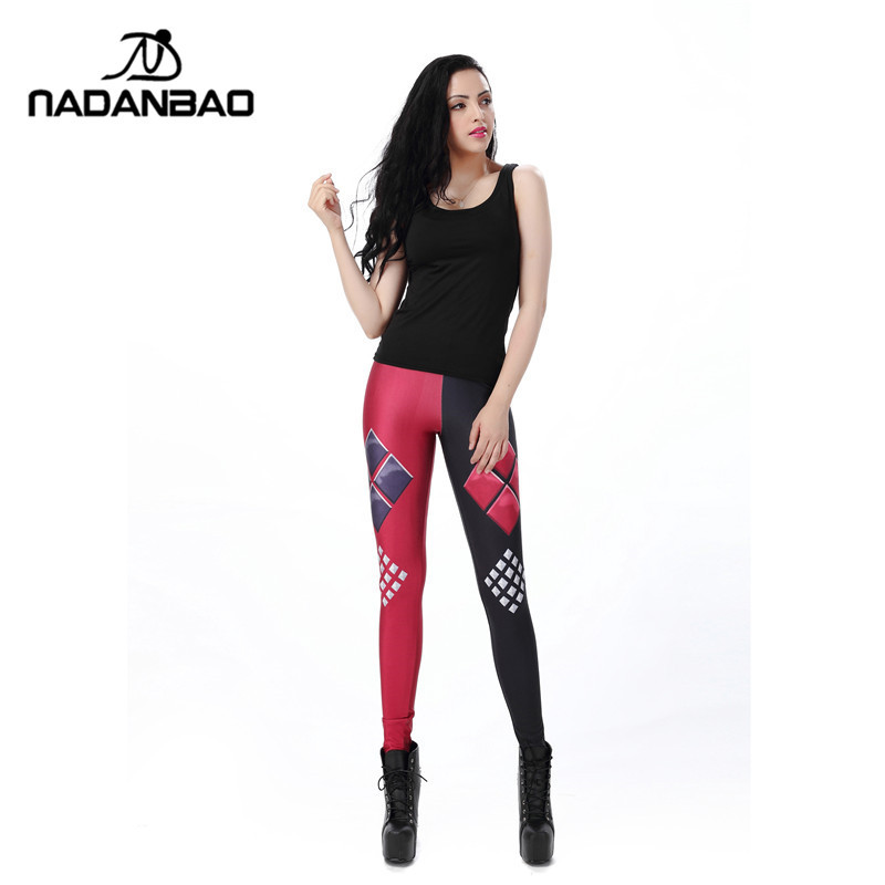 Joker  Harley Quinn  Wear Outside Yoga Pants Fitness Of Pants Halloween Cosplay Printed leggings