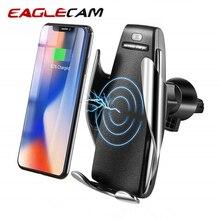 Автомобиль Беспроводной Зарядное устройство для iPhone X XR 8 плюс быстрая Беспроводной зарядки для samsung Galaxy S9 S8 плюс телефон держатель ячейки стенд