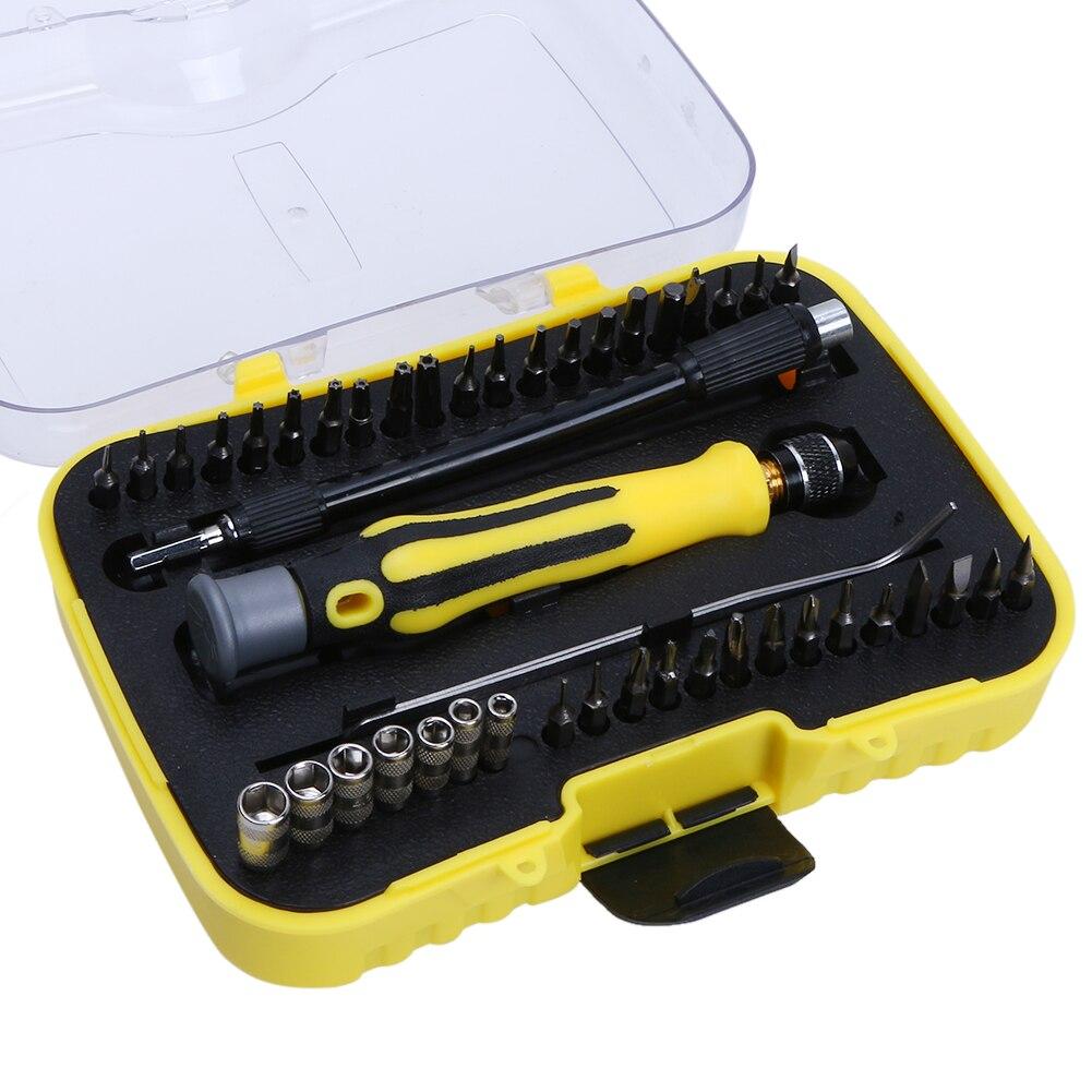 45 dans 1 Téléphone Mobile Outils De Réparation Jeu de Tournevis Outil D'ouverture pour Téléphone iPhone PC Portable Outil Instruments