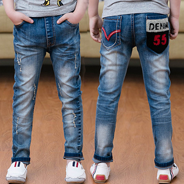 fe27c7153 Free shipping children's clothes Boy's trousers spring/autumn new arrival boy  jeans casual boy's trousers fashion jeans trousers-in Jeans from Mother &  Kids