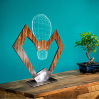 Sweat heart Sign Bulb 3D Optical Illusion lampa biurkowa nowoczesny drewniany stół lampa wizualna wielobarwny USB Home Decor z Luminous w Błyszczące oświetlenie od Lampy i oświetlenie na