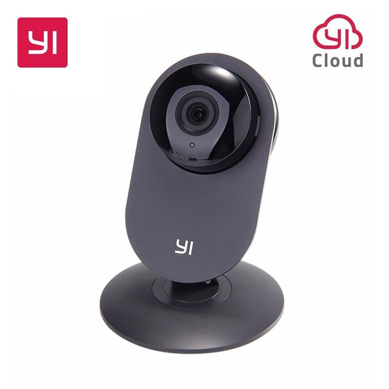 YI Maison Caméra 720 p Noir Nuit Vision Vidéo Moniteur IP/Réseau Sans Fil de Surveillance de Sécurité À Domicile Internation Version