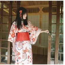 Kimono japonés vestido tradicional cosplay mujer yukata mujeres haori Japón  geisha disfraz obi Japón ropa AA3926 a3b44e6b7ba5