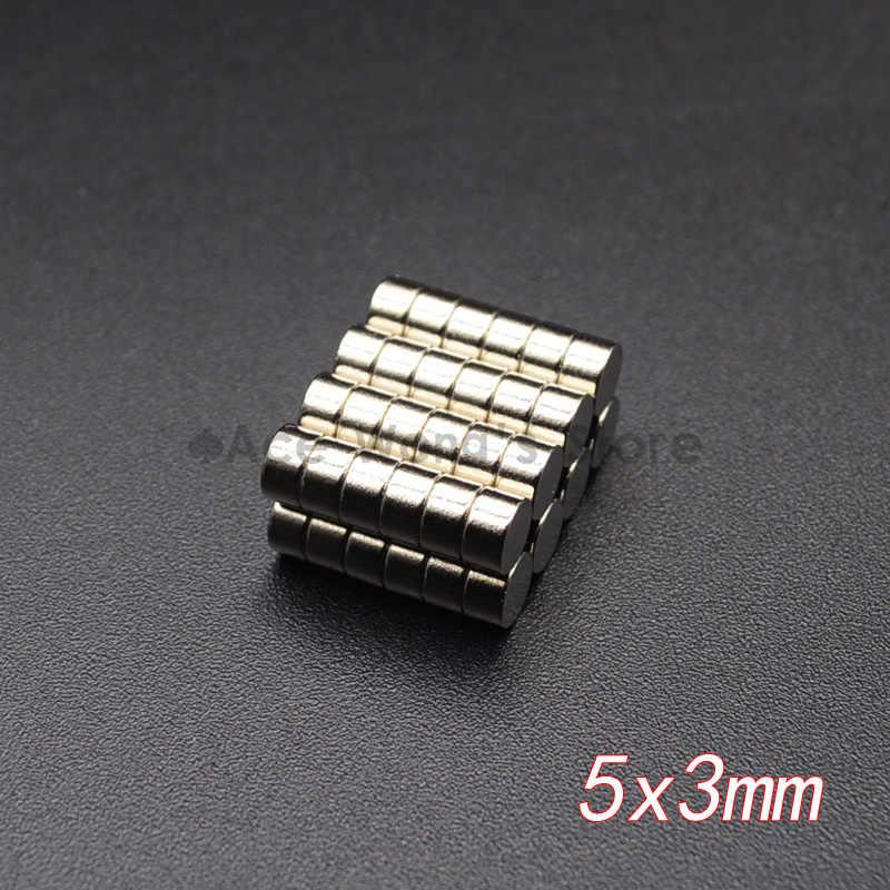 10 sztuk Mini mały magnes N35 5x1 6x2 8x3 10x1 10x2 12x2mm magnes neodymowy trwałe magnesy NdFeB super silny
