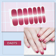 1 Piece fashion Nail Sticker  3d nail sticker Self-adhesive DIY StickerDecals Manicure Tools Environmental protection