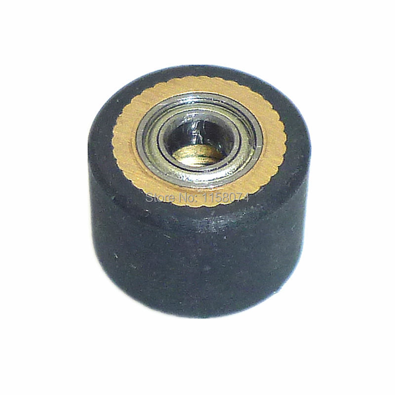 4X10X14mm Copper Core Pinch Roller Hole Dia 4mm Roland Vinyl Plotter Cutter Cutting Engraving Machine Printer Parts High Quality