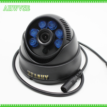 AHWVSE AHD 1080P 4MP 5MP Camera Wide Angle 3.6mm Optional Dome CCTV Camera Surveillance Security 6 Array IR