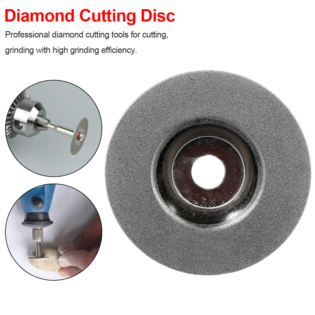 100mm Diamond Grinding Disc Cut Off Discs Wheel Glass Cuttering Saw Blades Rotary Abrasive Tools