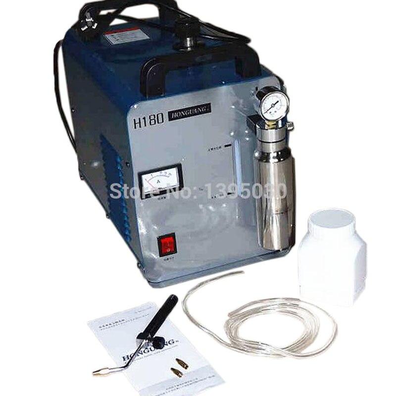 220 V haute puissance H180 acrylique flamme polissage électrique meuleuse/polisseuse machine 600 W 95L/H