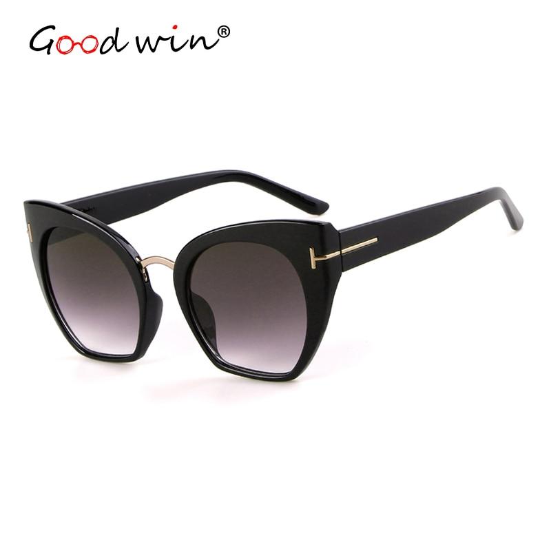 Good Win 2019 Sunglasses Women Luxury Brand Designer Vintage Retro Cat Eye Women Sunglasses Gradient Female Sun Glasses Fors TOM in Women 39 s Sunglasses from Apparel Accessories