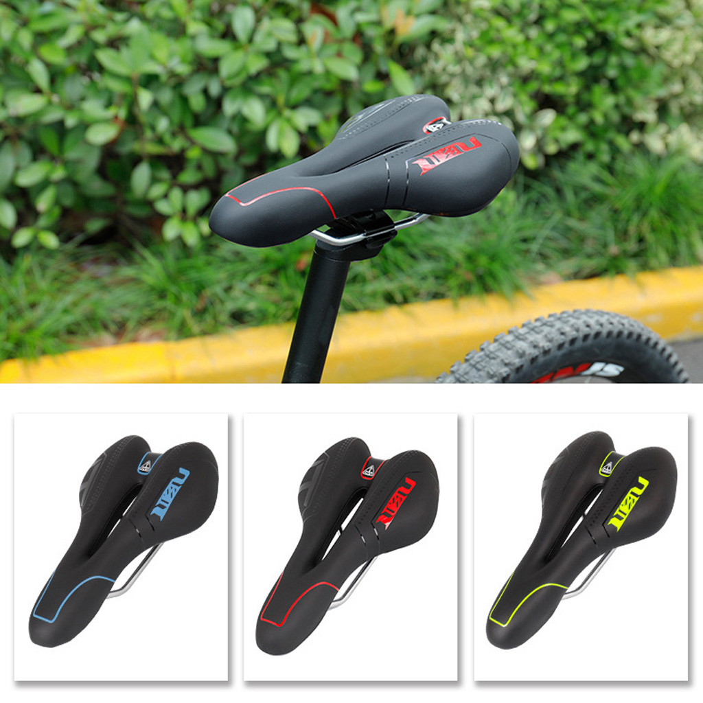 MTB Road Bicycle Soft seat Widen Saddle Mountain Bike Sddle Comfort Breathable