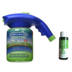 Image 1 - זרע גינון ממטרה דשא הידרו מוס ביתי הידרו זריעה מערכת דשא נוזל תרסיס מכשיר זרעי דשא טיפול השקיה