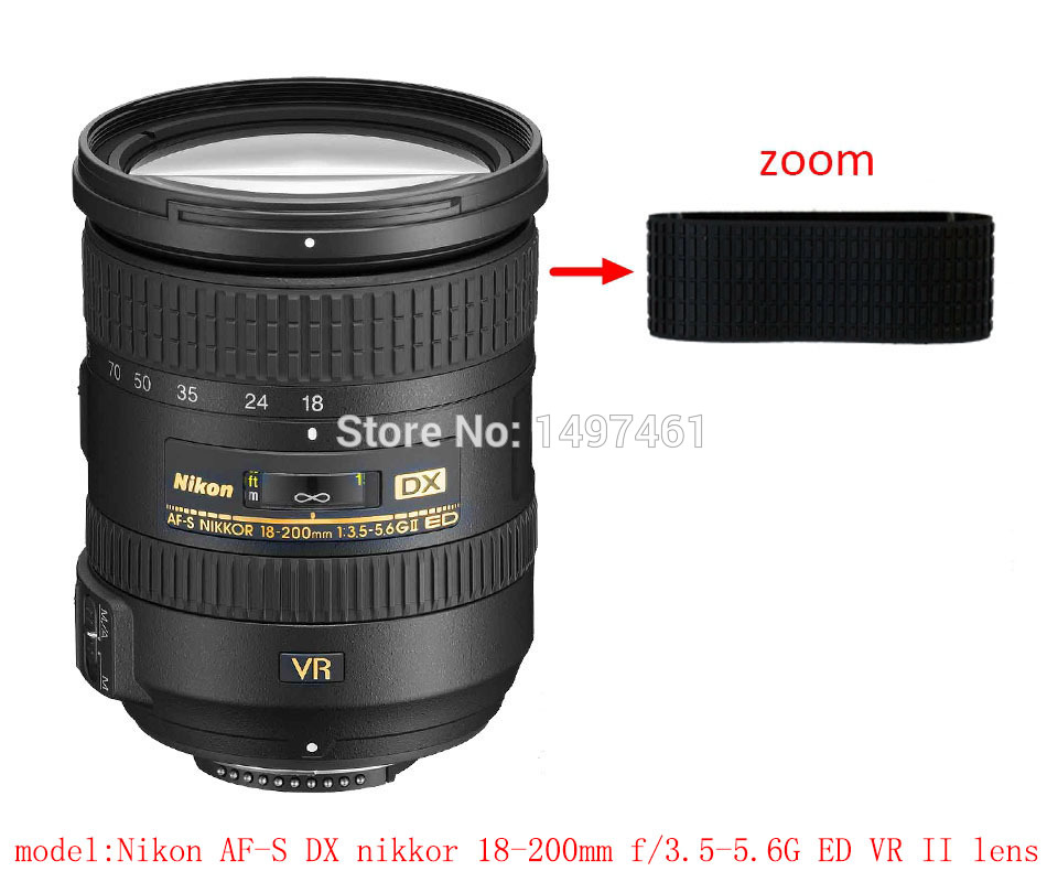 iMotor Lens Rubber Ring for Nikon AF-S 16-35 mm f//4G VR Camera Replacement Repair Lens Zoom Grip Rubber Ring for Nikon AF-S 16-35 mm f//4G VR