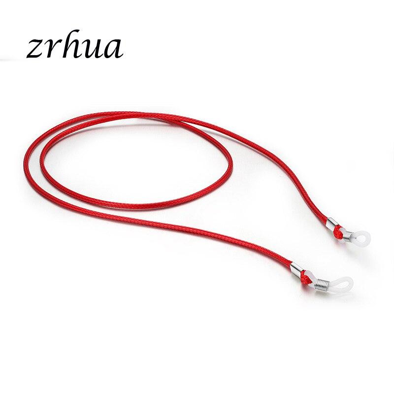 ZRHUA High Quality Eyeglasses Straps Glasses Sunglasses Chain Sports Band Cord Holder Elastic Anti Slip String Ropes