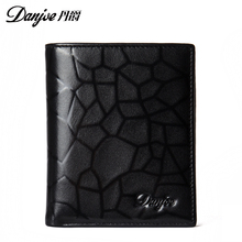 Luxury Men Wallets Genuine Leather Male Money Purses Brand New Designer Short Purse With Card Holder Dollar Price