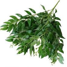 artificial leaves bouquet fake willow jungle wedding backdrop decoration christmas faux foliage vine party home decor plant Xmas(China)