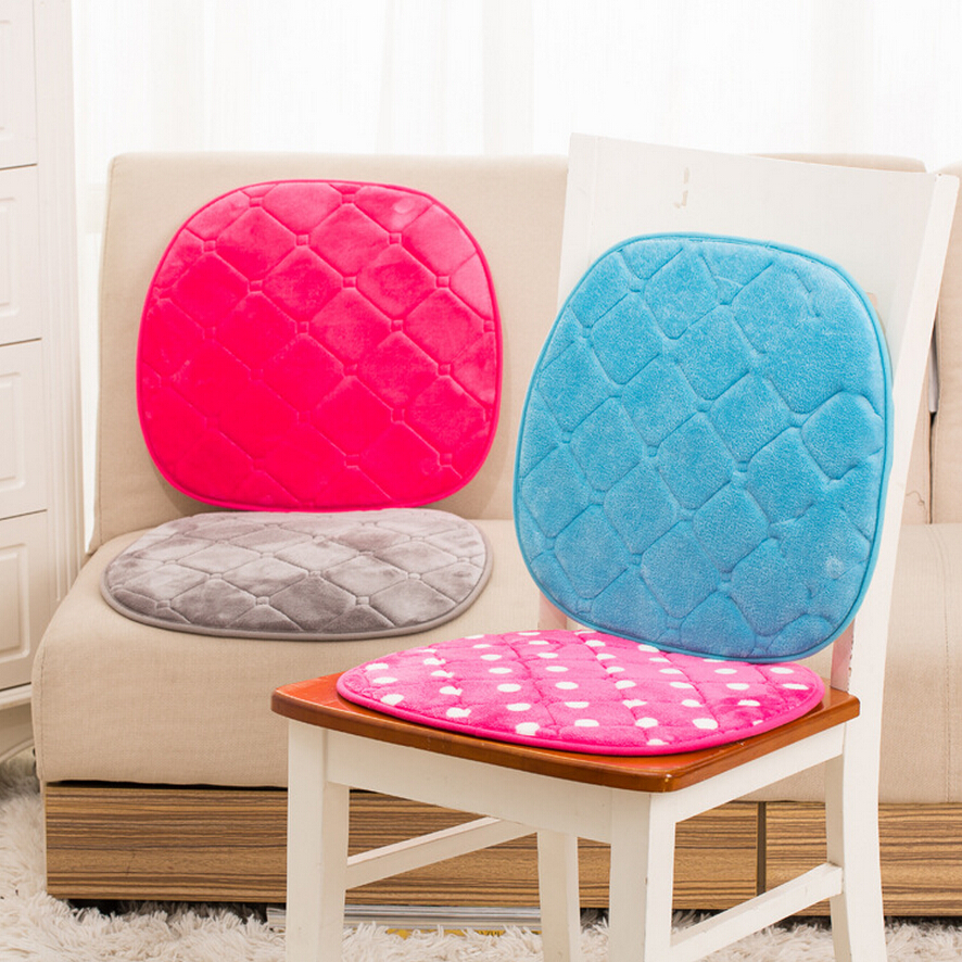 pink chair cushion